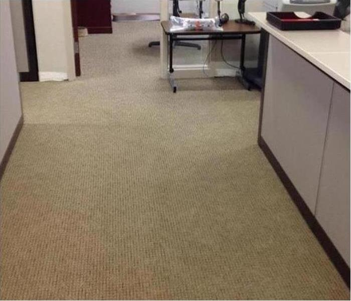 Commercial Water Damage – Chicago Office After
