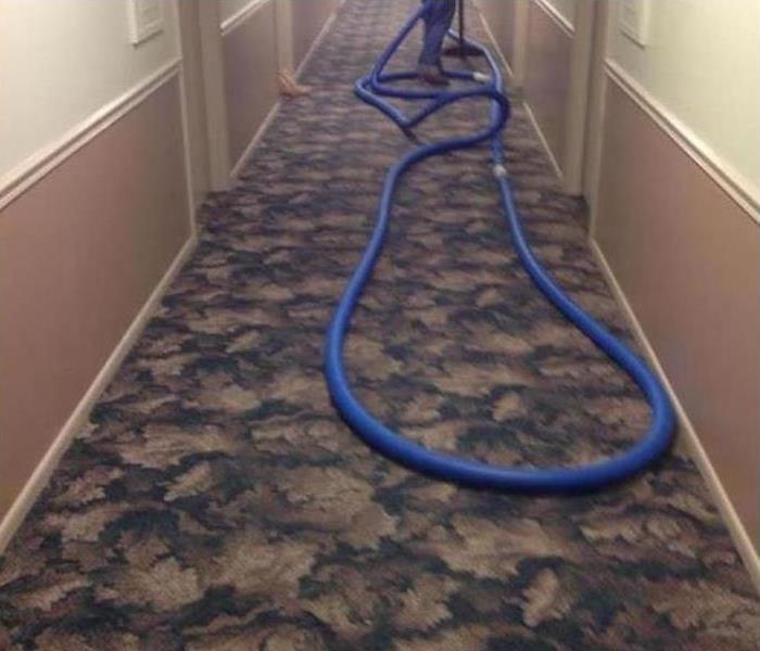 Commercial Water Damage – Chicago Office Building Before