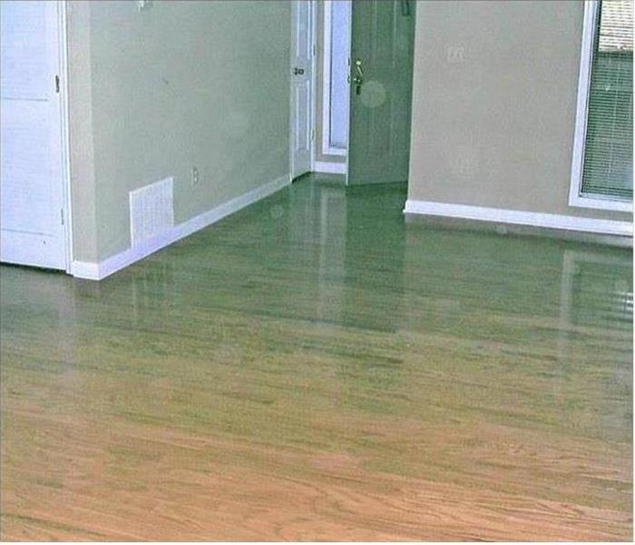 Water Damage - Chicago Condominium Before