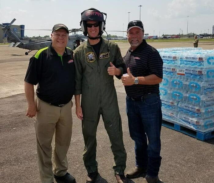 Our team helps after Hurricane Harvey