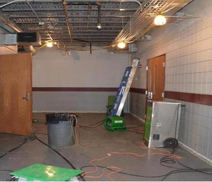 Ford City Building Water Damage