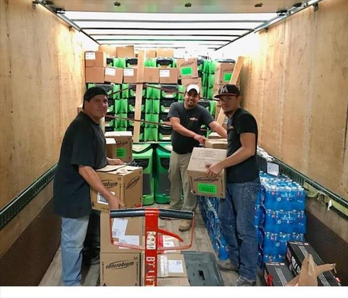 SERVPRO Delivers Hurricane Harvey Relief Supplies and Help