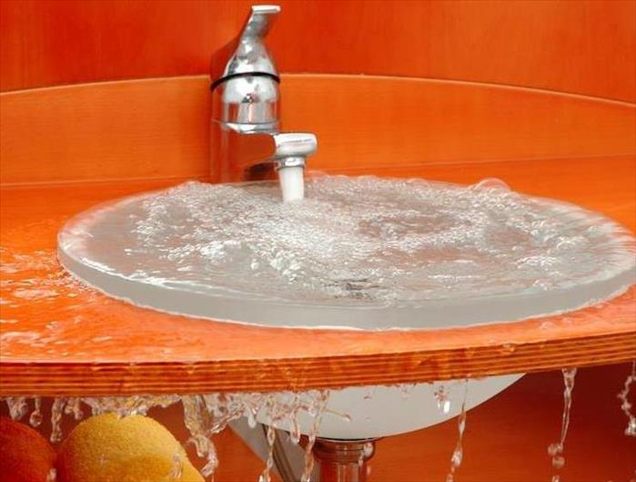 Water Damage Overflowing Sink in Your Chicago Home