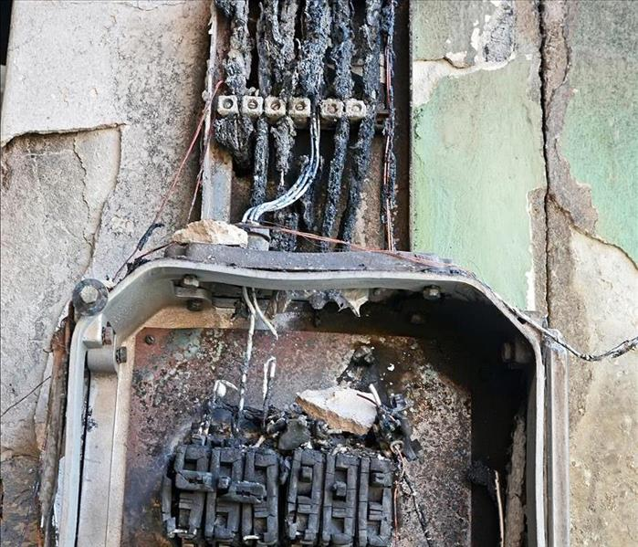 Fire Damage Electrical Fire Caused by Rodents in Your Chicago Home