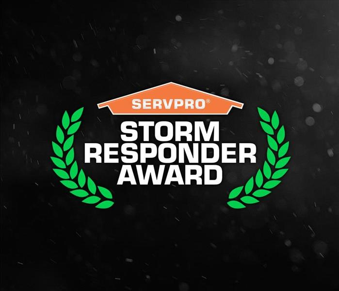 Storm Damage SERVPRO of Marquette Park/West Lawn/Ford City Recognized with the Storm Responder Award
